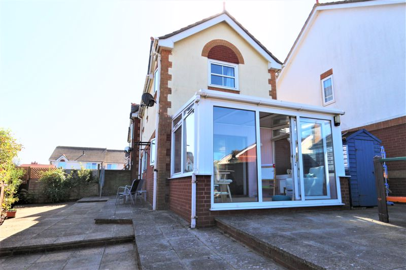 Rear of house/conservatory