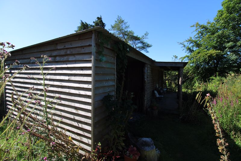 Timber shed/store