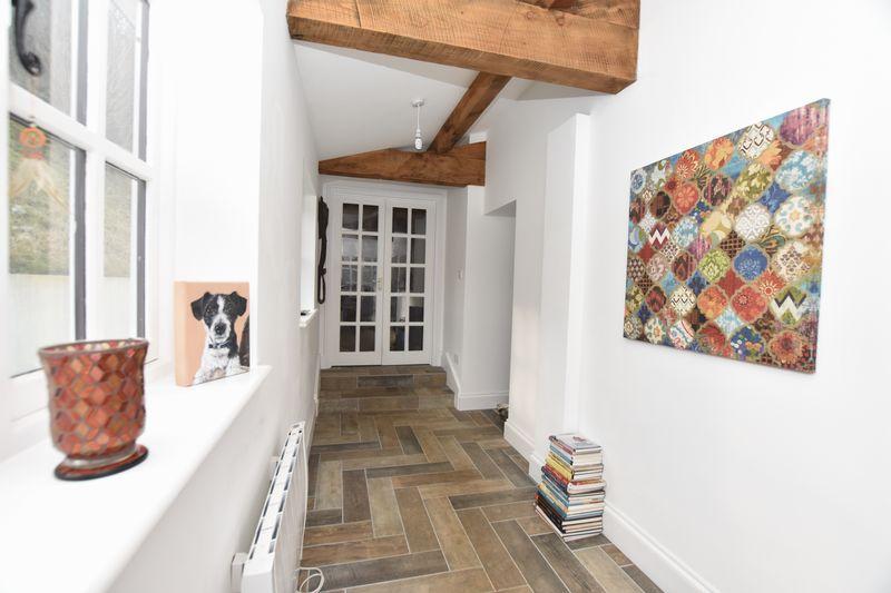 Stables hallway