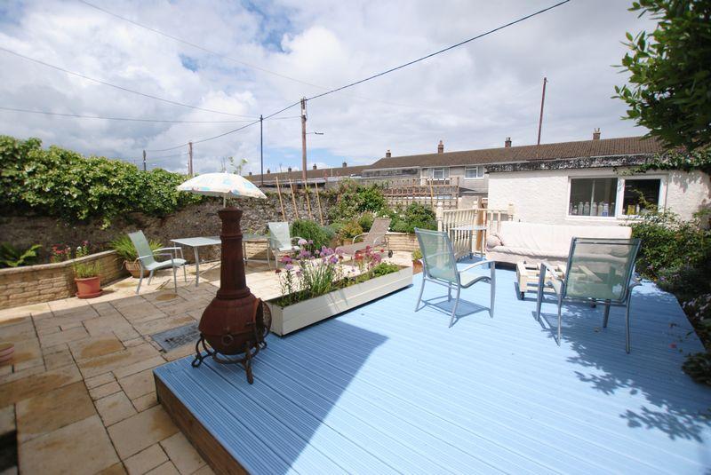 Rear Garden/Decking area