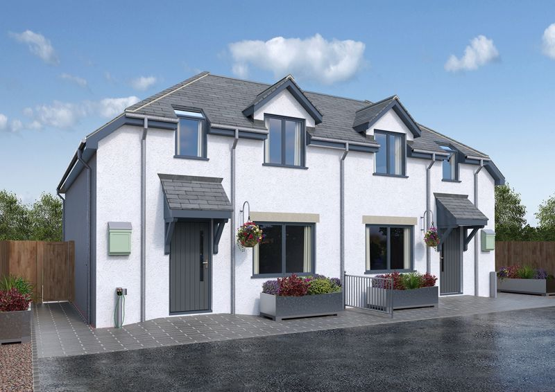 Brand new semi detached home