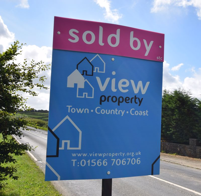View Property sold subject to contract board