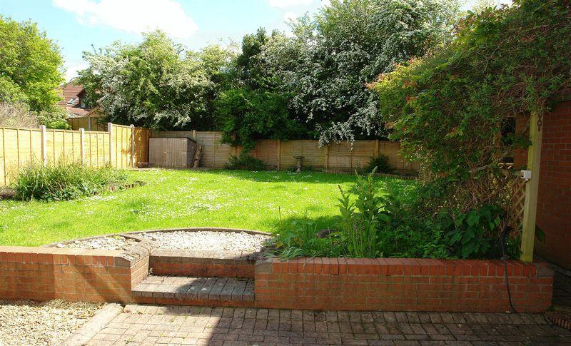 Patio to garden