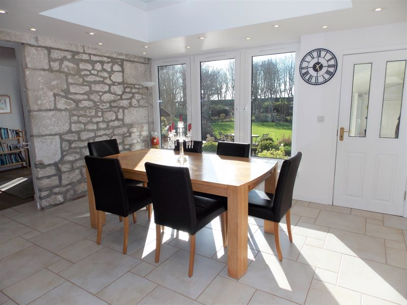 Dining Area with Views over the Gardens