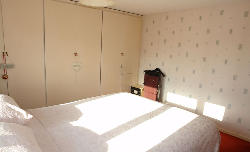 Bedroom 1 with wardrobes