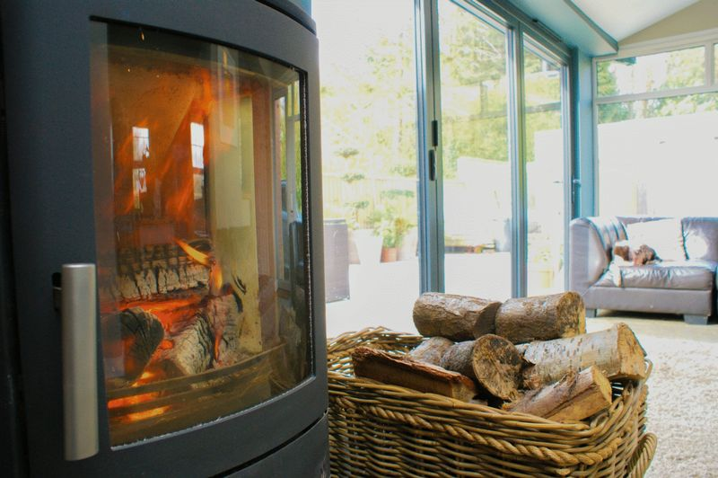 Wood burner feature