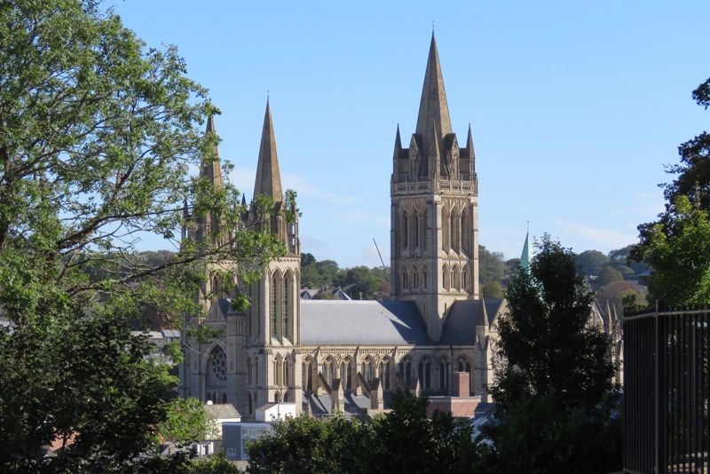 Truro Cathedral From Tresawya Drive