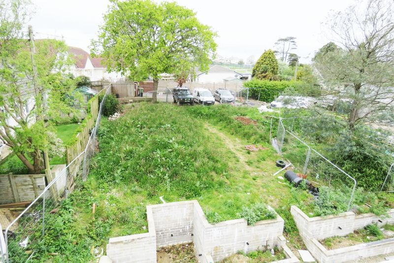 Superb sized rear garden (to be landscaped)