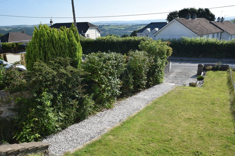 Front garden and view