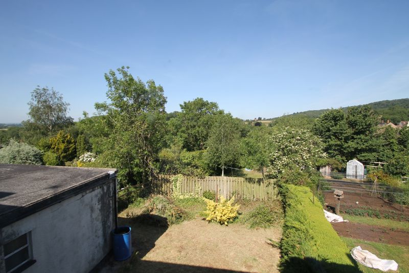 Over view of garden and views beyond