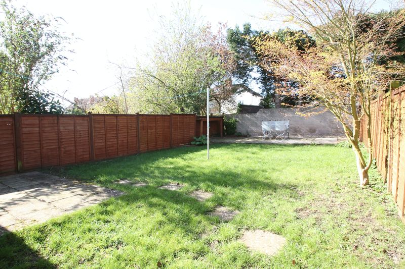 Private garden to the rear