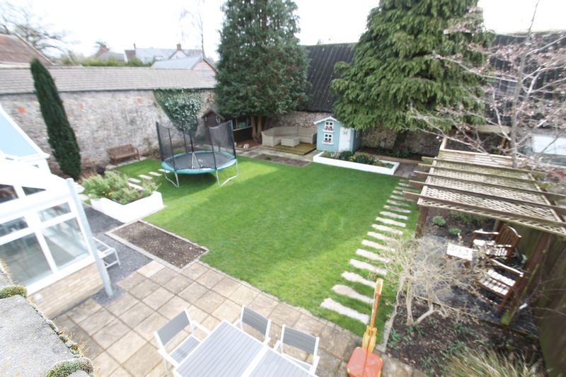 Rear garden over view
