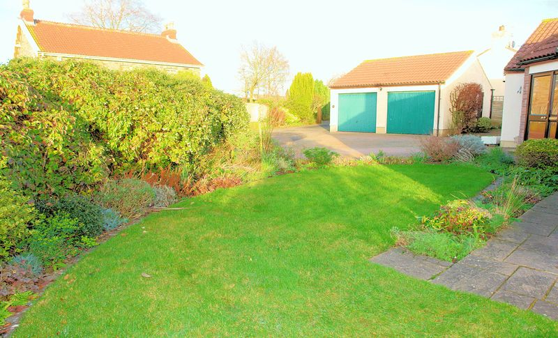 Lawn and forecourt