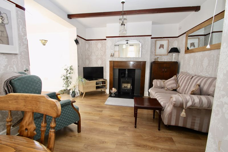 Living area of the sitting room