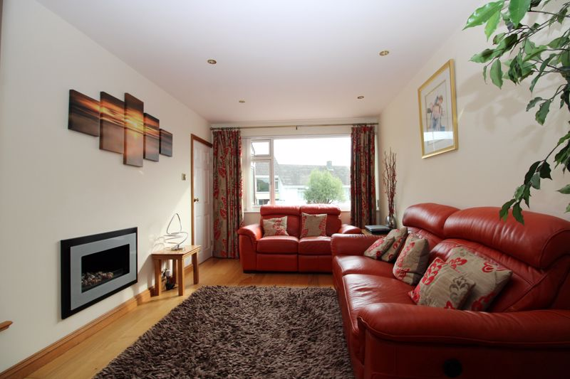 Living room with feature gas fire