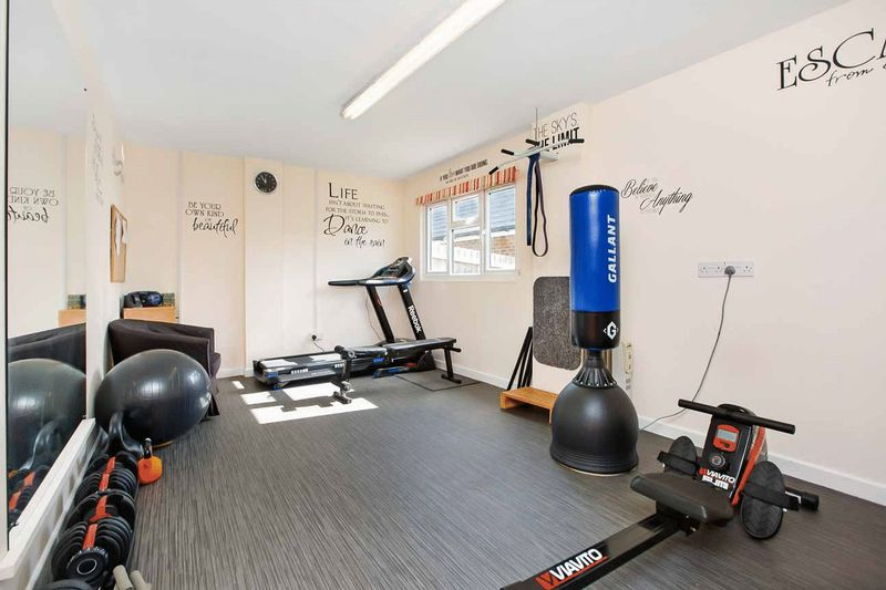 gym/games room