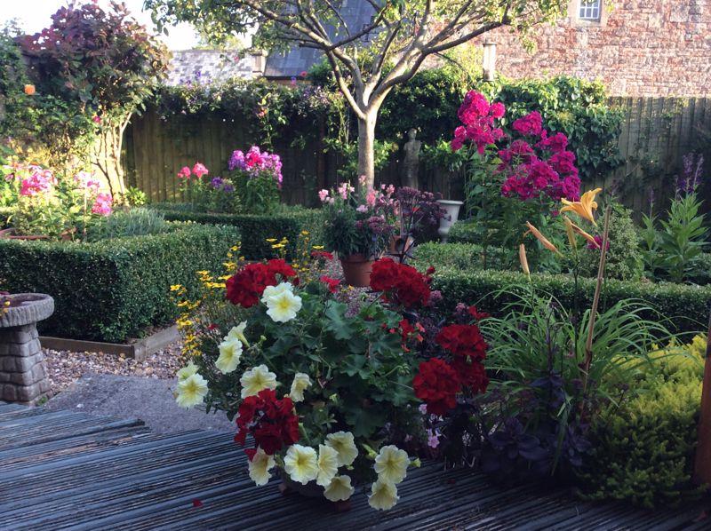 Vendor supplied summer garden photos