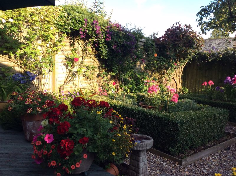 Vendor supplied summer garden photo