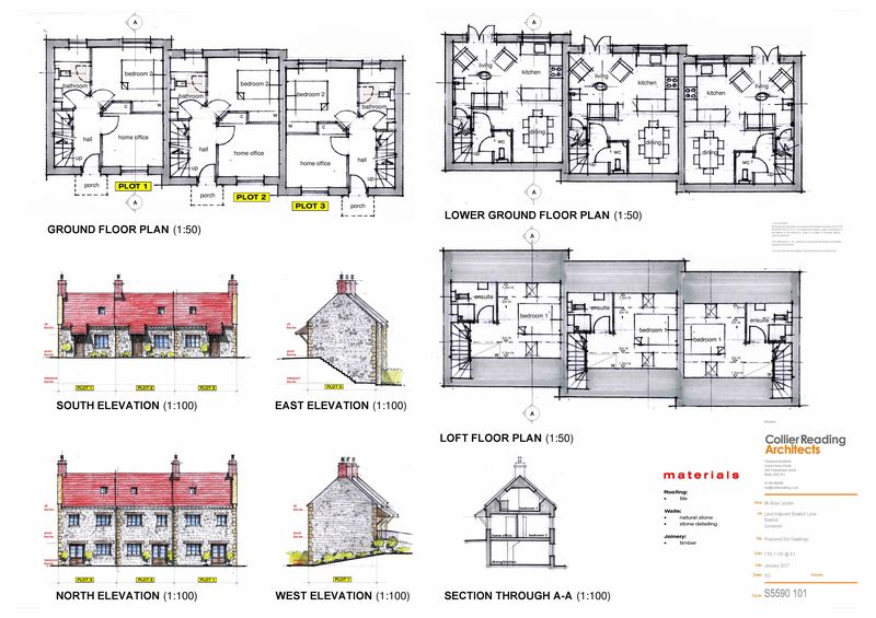 Floorplans and Elevations