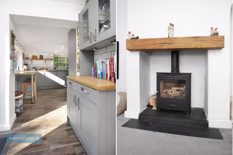 Kitchen / Fireplace