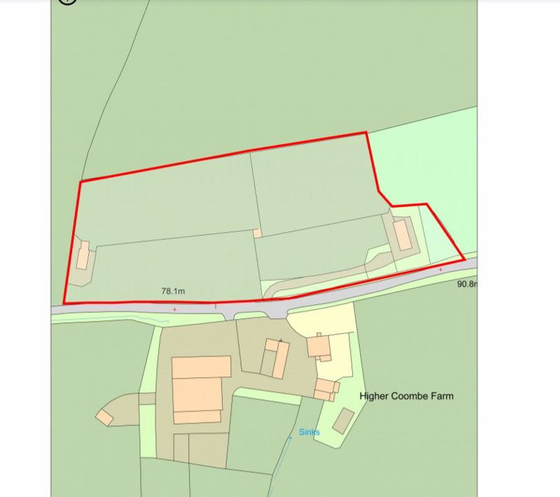Land at Coombe Hill West Buckland