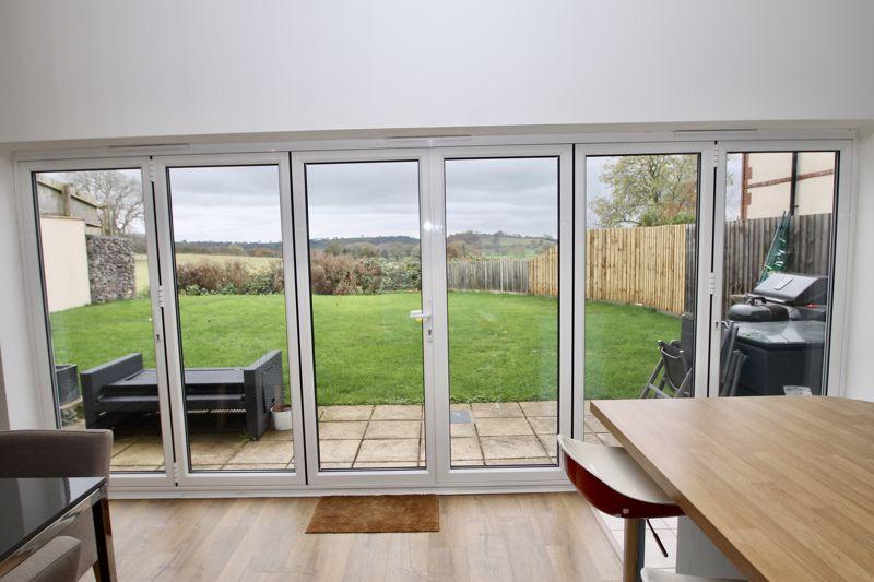 Bi fold doors onto the garden