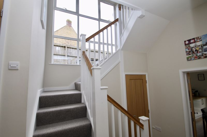 Entrance hall with feature window