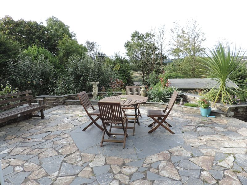 Sun terrace with a southerly aspect