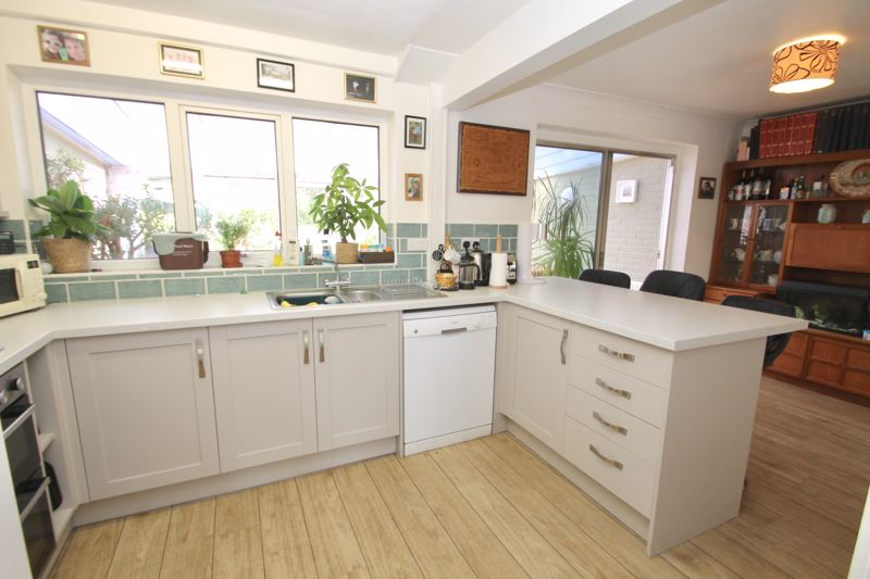 Recently fitted kitchen and dining area