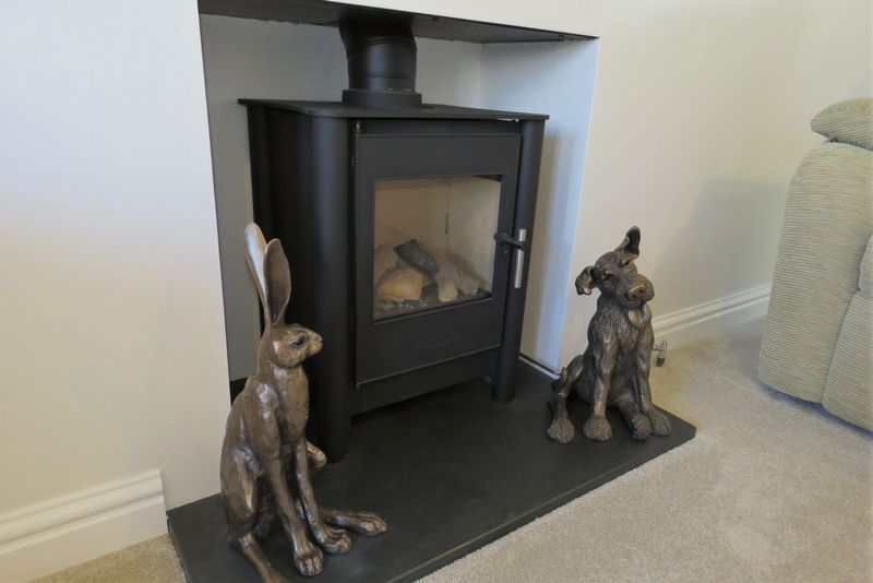 Woodburner Style Gas Fire