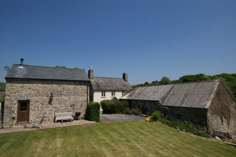 Widecombe Cottage, farmhouse and workshop