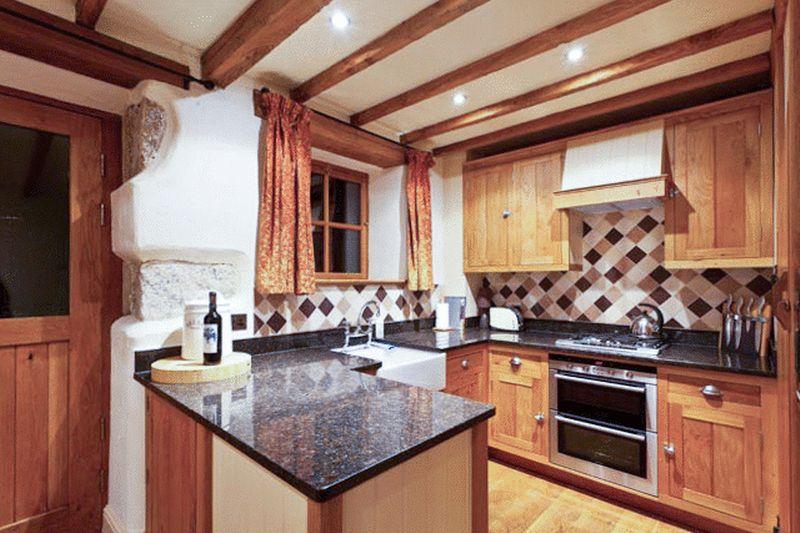 Widecombe Cottage Kitchen