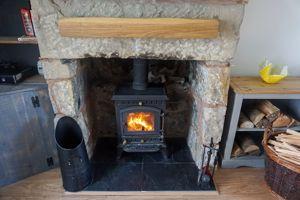 Fireplace & Logburner