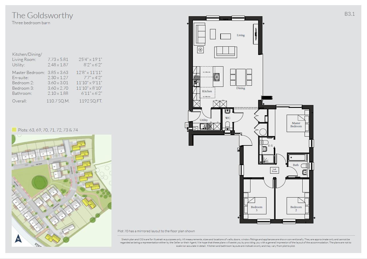 Goldsworthy Floorplan