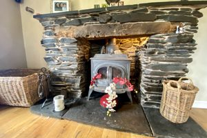 Fireplace with Burner