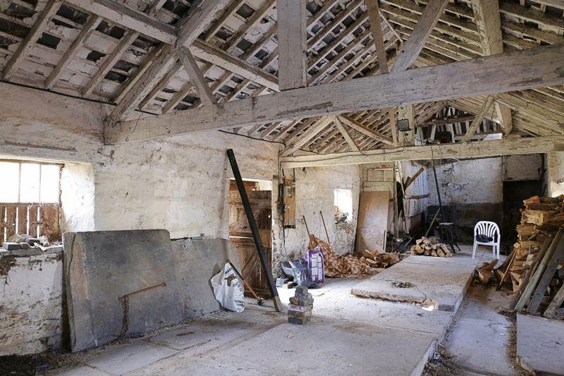 Inside Outbuilding