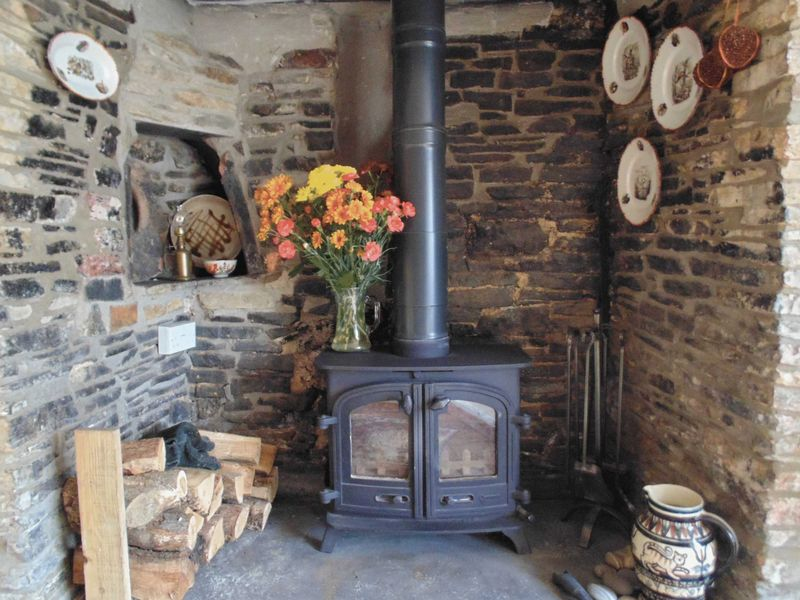 Multi Fuel Stove - Dining Room