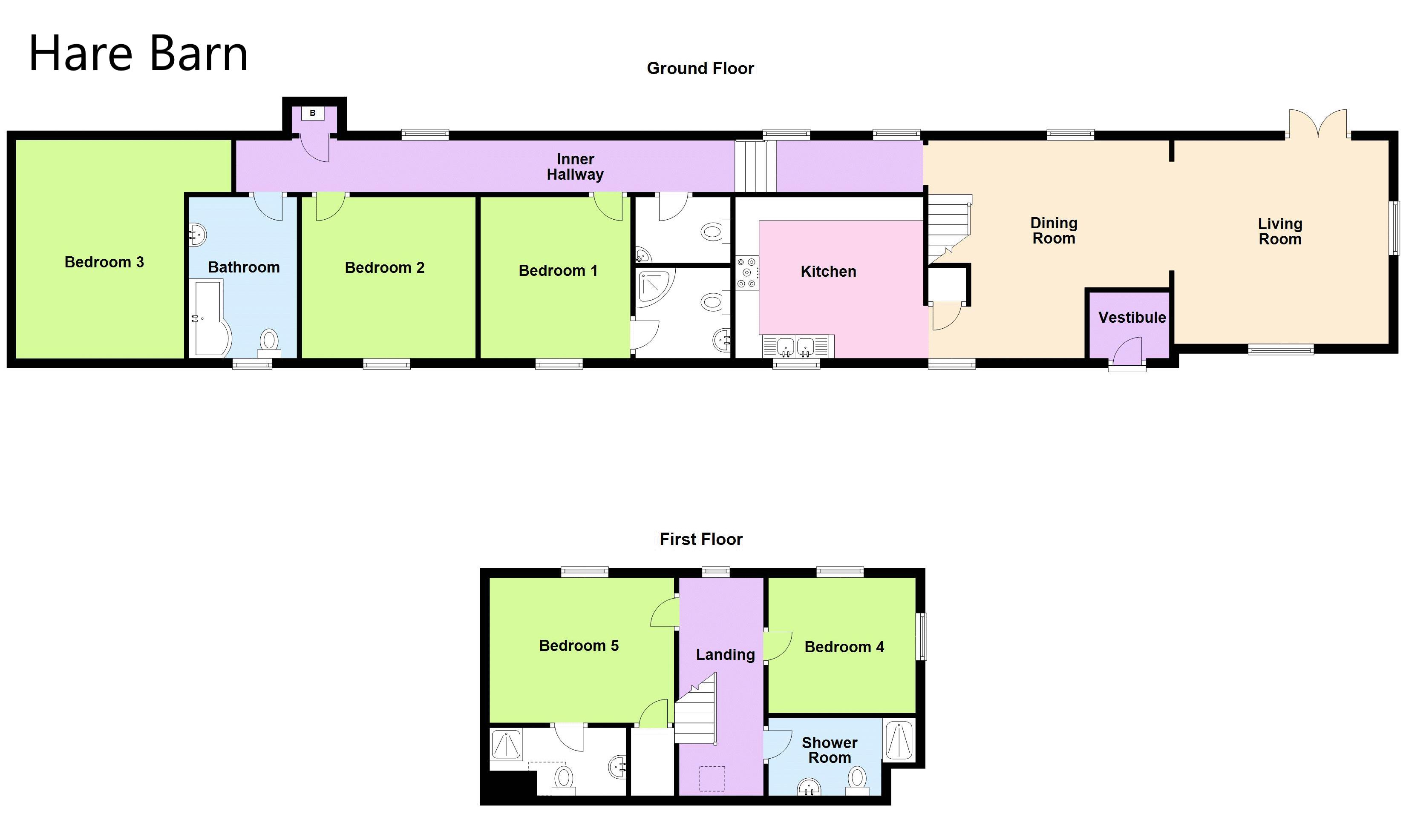 Holiday Let Floorplan