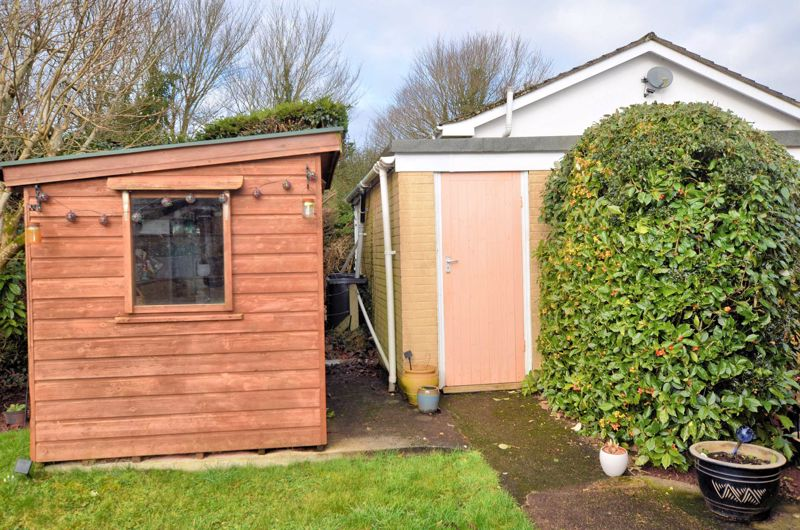 Shed and Garage Entrance