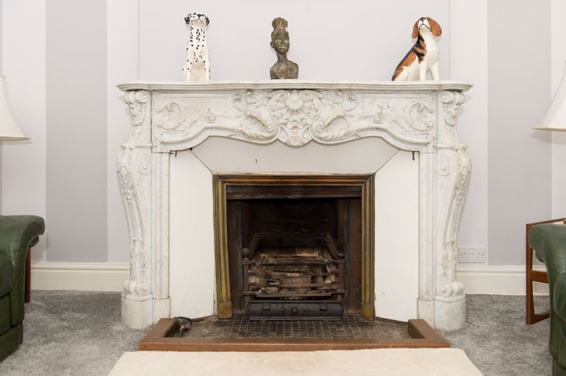 Low Greenfield Fireplace