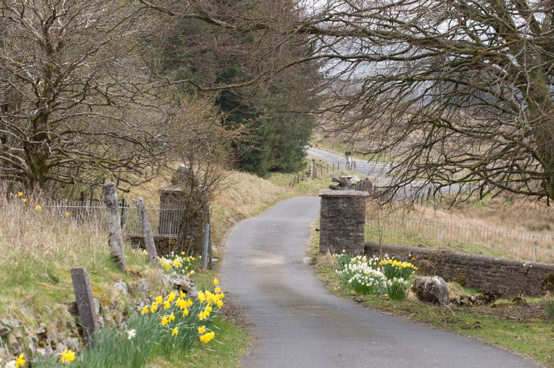 Low Greenfield Gated Access Road