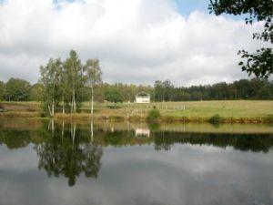 Lake and House