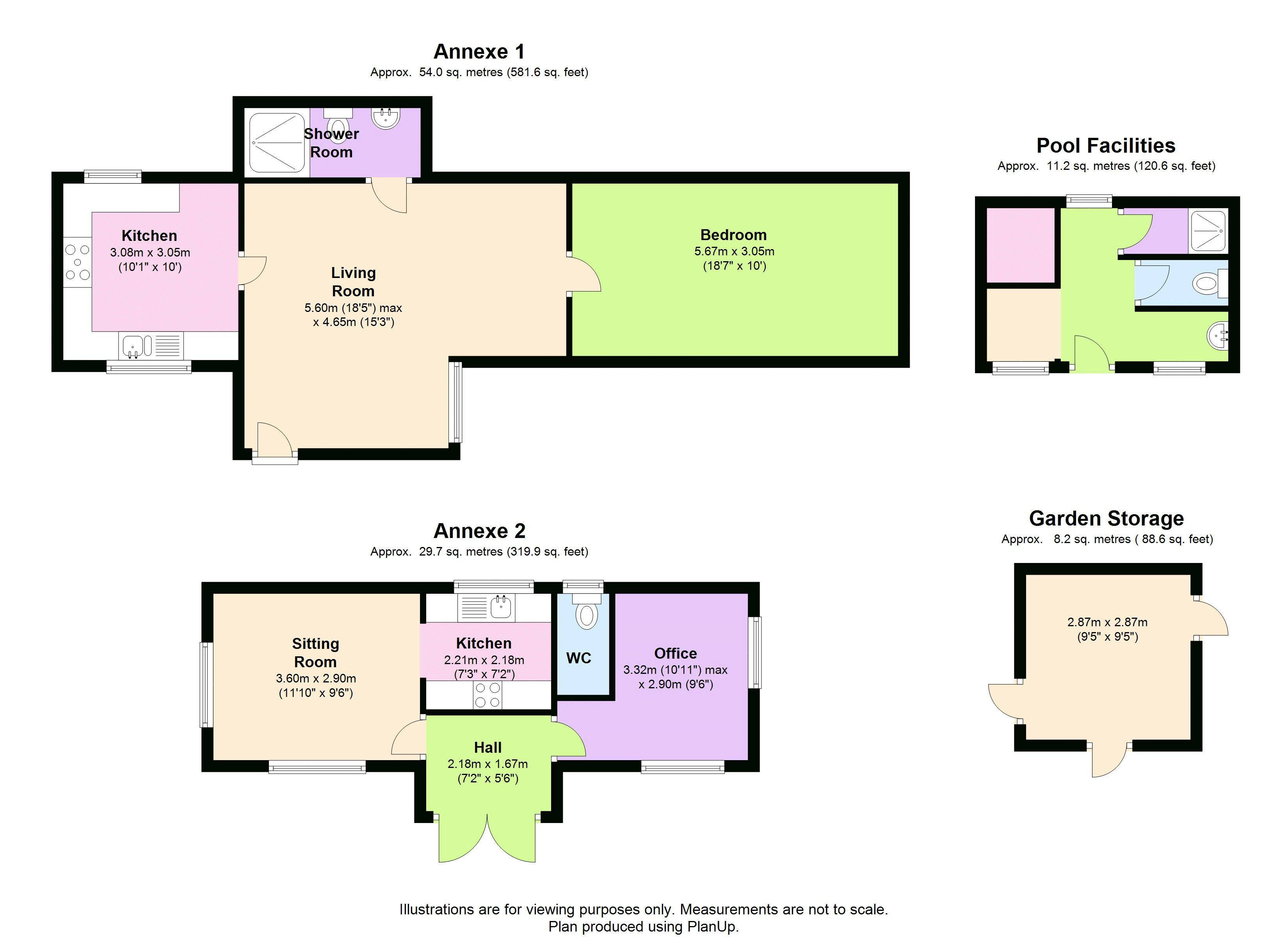Outbuildings Floor Plan