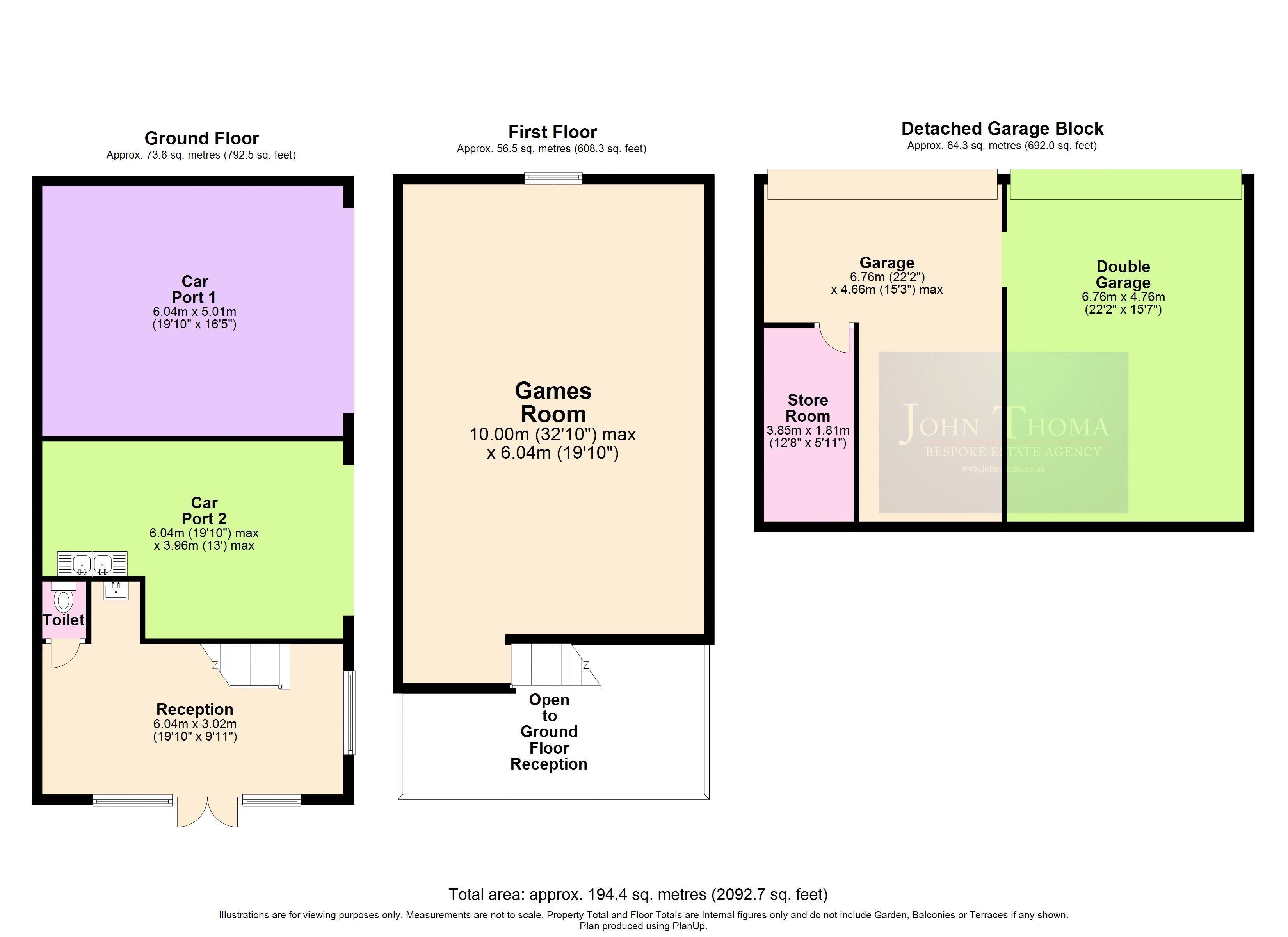 2D Floor Plan Annexe