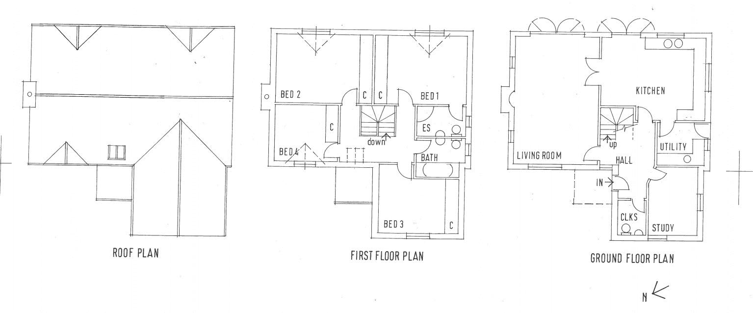 Rock Bungalow proposed floorplan