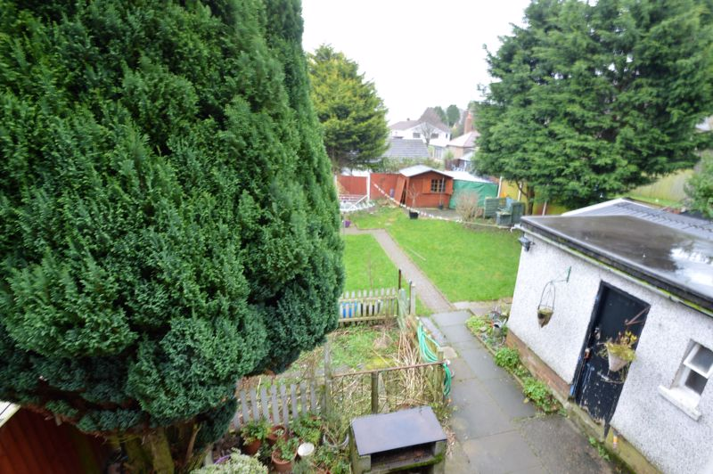 ELEVATED VIEW - REAR GARDEN