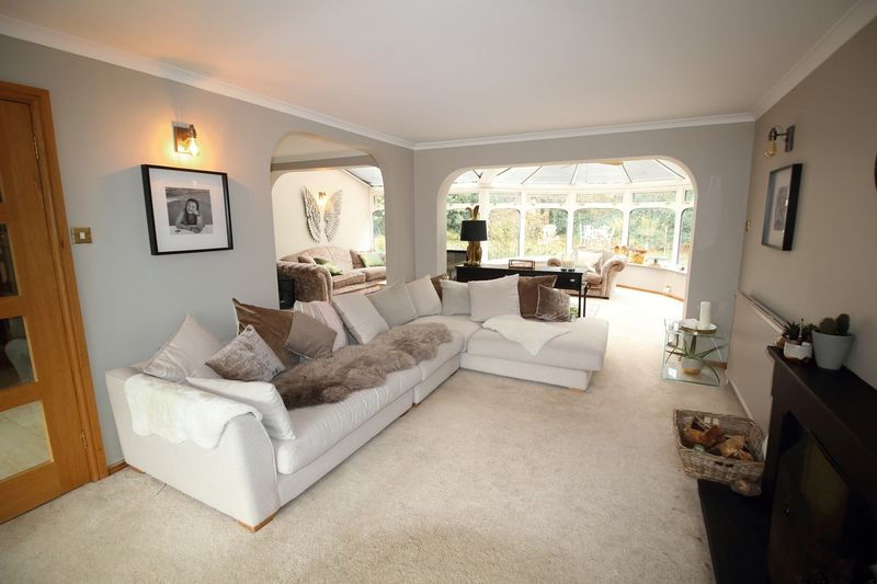 SITTING AREA TO LIVING ROOM / CONSERVATORY