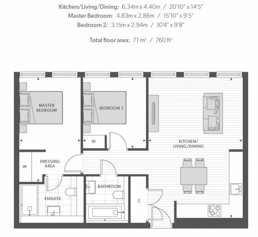 Floorplan Leon House