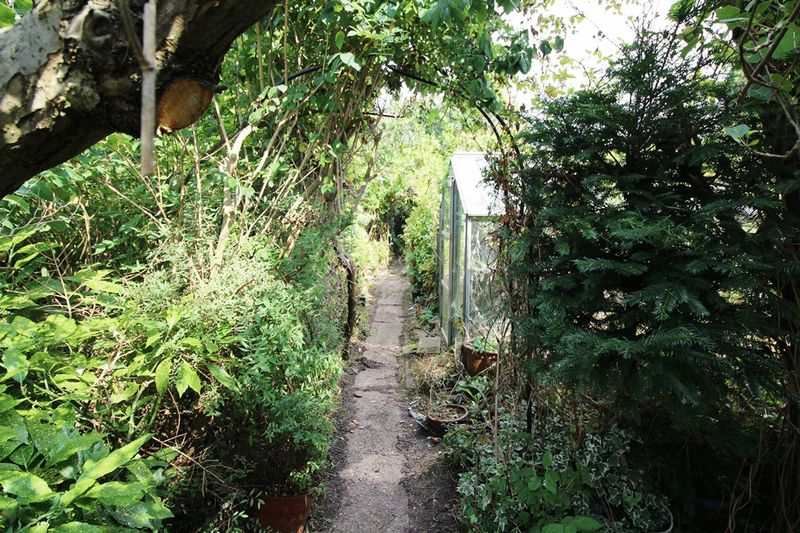 PATH TO REAR OF GARDEN