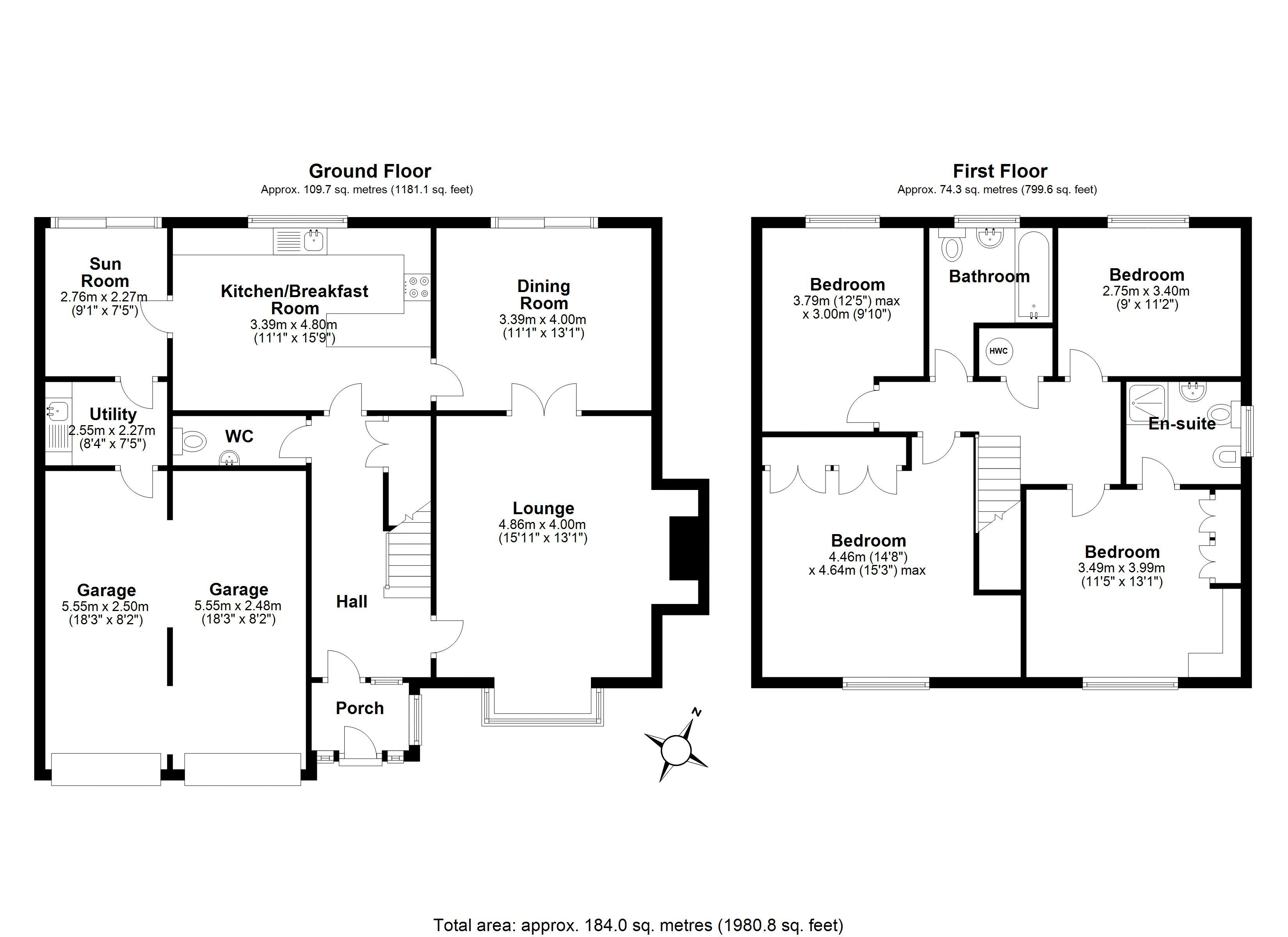 Walsh Close main floor plan